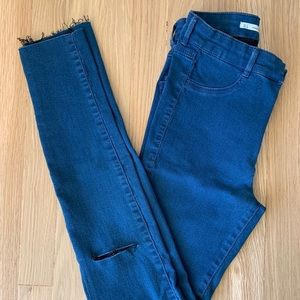 13be489e Zara Jeans | Highrise Super Elastic Jeggings | Poshmark